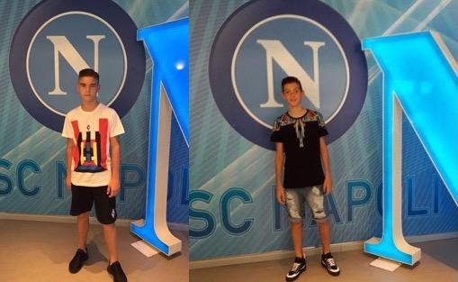 ASd Micri, il sogno continua nel calcio Napoli per Matteo Marchisano ed Enrico Giannini