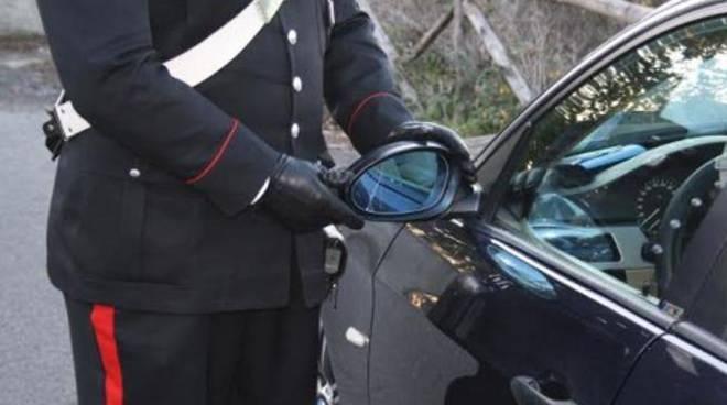 LA TRUFFA DELLO SPECCHIETTO – I carabinieri a Pomigliano d'Arco arrestano una coppia