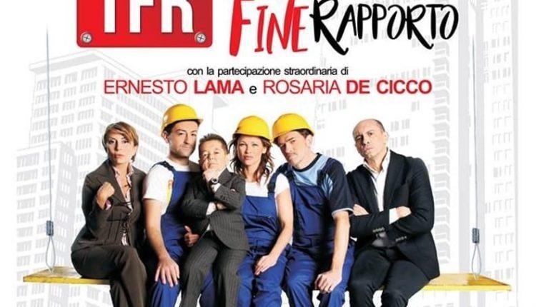 TFR,lo spettacolodiLucio Pierri in scenaal teatro Summarte di Somma Vesuviana
