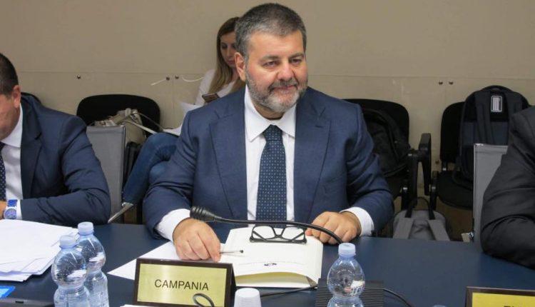 Al meeting romano: Carmine Mocerino, presidente della Commissione Regionale anticamorra della Campania