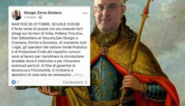"""Nella città di Troisi c'è un nuovo Santo. Dopo la chiusura delle scuole gli studenti beatificano """"San Giorgio Zinno"""""""