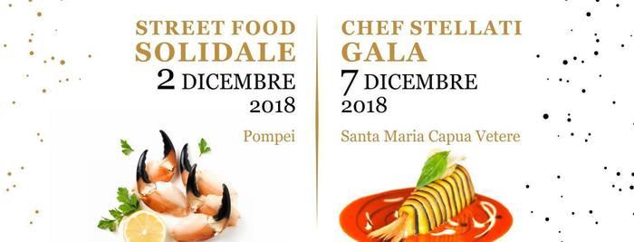 """Chef campani ai fornelli per il Santobono""""Cenando sotto un Cielo diverso"""" a Pompei e Capua"""
