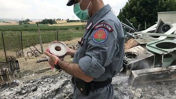 """Carabinieri forestali: """"In Campania più reati per bracconaggio e gestione rifiuti"""""""