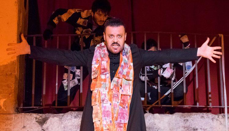 """""""Mater Camorra e i suoi figli""""adattamento da Brecht di Gianni Sallustro:lo spettacolo è dedicato a Gaetano Montanino vittima innocente di camorra"""