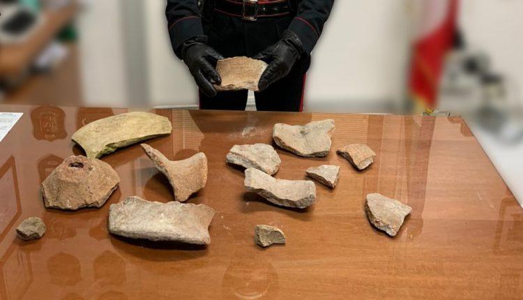 Pompei: Ruba alcuni frammenti antichi dal parco archeologico. 25enne arrestato dai Carabinieri