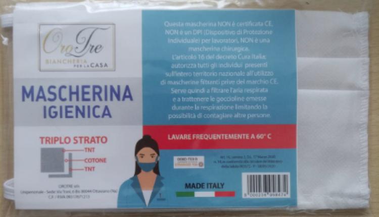 """Martedì 21 aprile con il quotidiano """"Il Roma"""" mascherina gratis"""