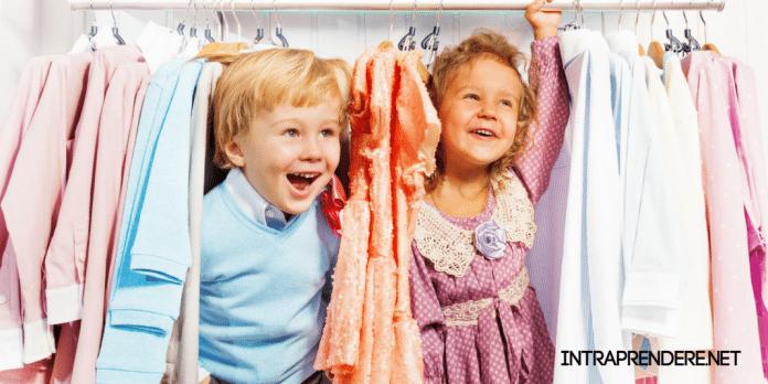 Riaprono a tempo i negozi per i bimbi, i clienti cambiano taglie