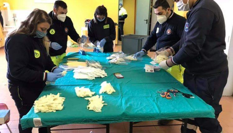 EMERGENZA CORONAVIRUS – A Massa di Somma sindaco e assessori in prima linea con la protezione Civile per la macchina della solidarietà e della prevenzione