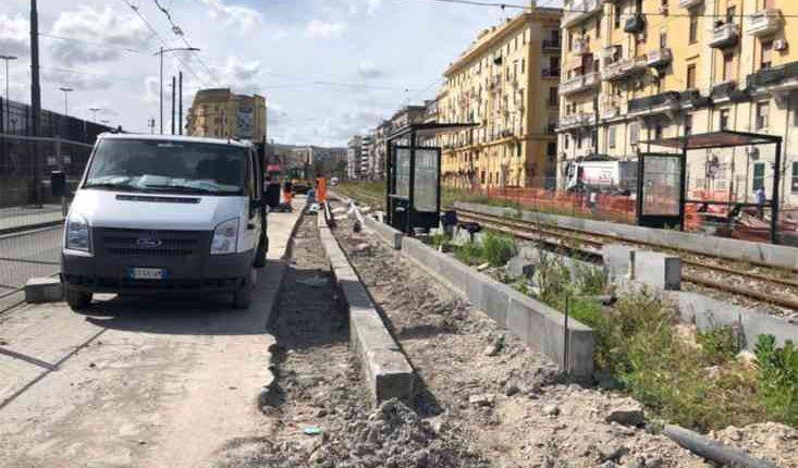 Via Marina, la conclusione dei lavori per fine luglio. L'annuncio del direttore ai lavori dopo un summit in Comune