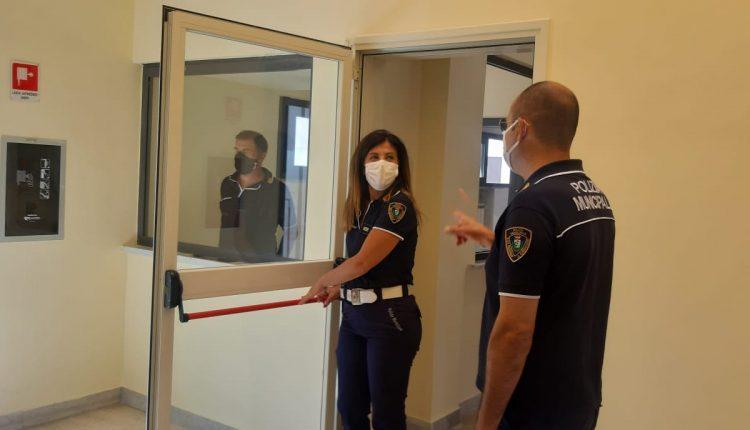 Interventi di riqualificazione del Comando di Polizia Municipale a San Giorgio a Cremano: maggiore sicurezza e nuovo front-office