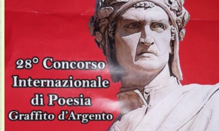 AL via la premiazione della 28 esima edizione del Premio di Poesia Nazionale Graffito d'Argento