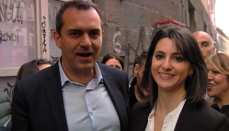 Luigi-de-Magistris-con-Eleonora-de-Majo