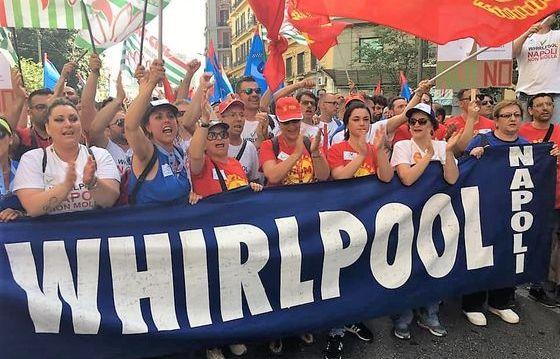 L'emergenza Whirlpool: sciopero di 8 ore in tutto il gruppo il 22 luglio