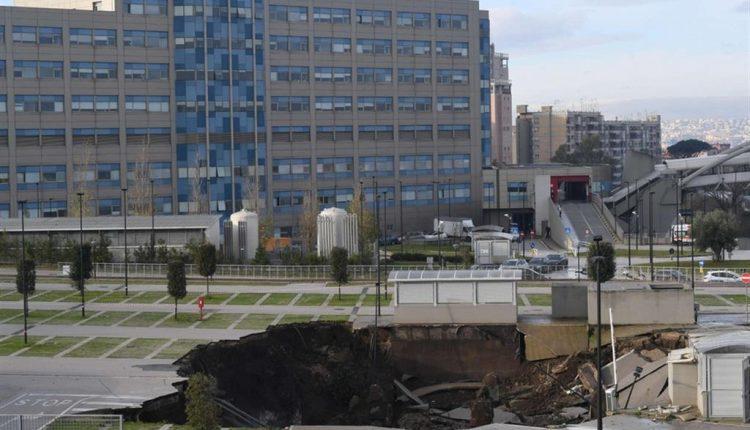 Voragine Ospedale del Mare: la Procura dissequestra l'area per 10 giorni per consentire lavori necessari al ripristino dell'acqua calda
