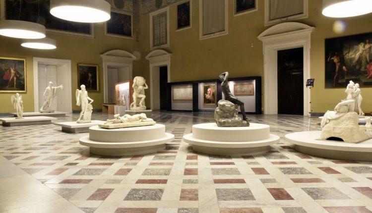 Canova-e-l'Antico.-Exhibition-view-at-MANN-Napoli-2019-
