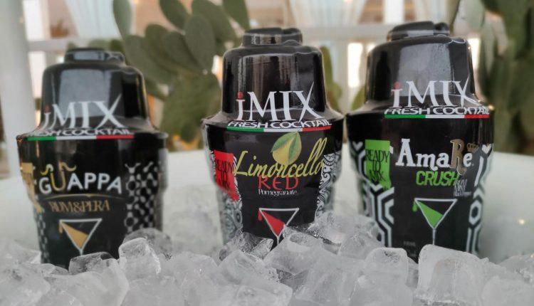"""L'Antica Distilleria Petrone lancia gli """"iMIX – Fresh Cocktail"""", gli unici drink da miscelare all'istante grazie a un innovativo mini shaker"""
