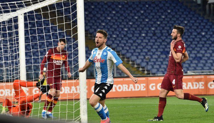 Il Calcio di Serie A: Roma-Napoli 0-2, Mertens porta al quinto posto gli azzurri