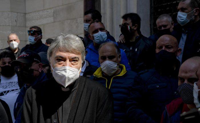 Covid: arcivescovo Napoli incontra delegazione mercatali