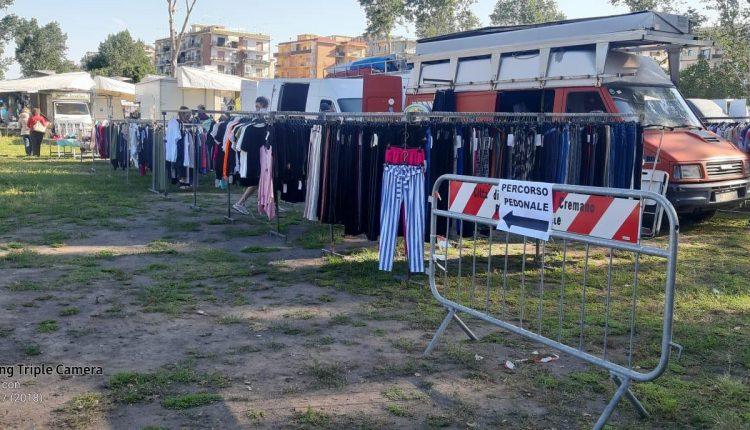 A San Giorgio a Cremano, riapre il mercato all'aperto non alimentare: accesso consentito dalle ore 9.00. Agenti di polizia municipale vigileranno il varco e l'area