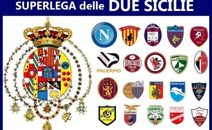 Sulla questione Superlega, i neoborbonici propongono quella delle Due Sicilie: la provocazione del movimento. Dal Napoli al Palermo tante squadre dentro