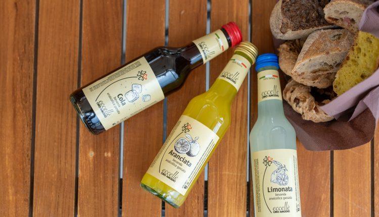 Eccellèla linea di eccellenze agroalimentari di Ciro Amodio si arricchisce di nuovi prodotti: nuova selezione di bibite 100% italiane, paste artigianali, grandi vini e pregiate produzioni casearie