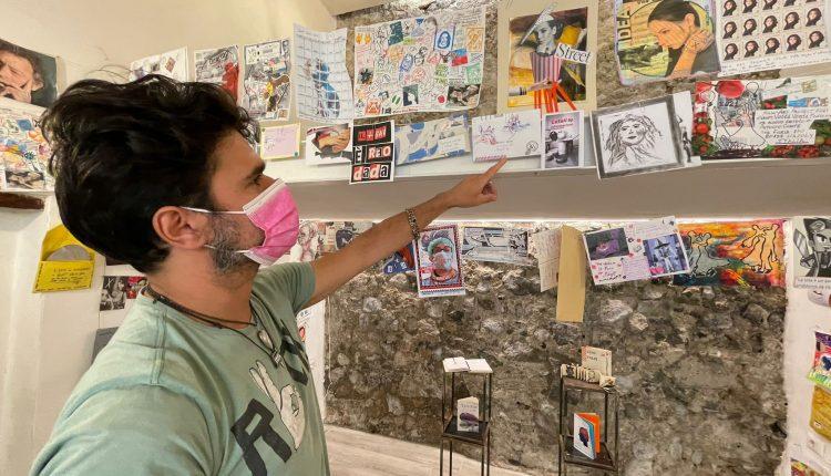 """A Somma Vesuviana 154 artisti da tutto il mondo per """"Mail1art"""" la collettiva organizzata da 'o vascio room gallery"""